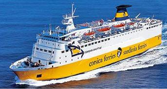 Oversteek met de Corsica Ferries