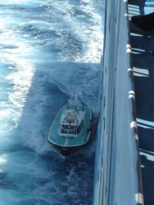 Loodsbootje Corsica