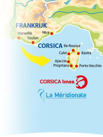 Actuele informatie Corsica LInea